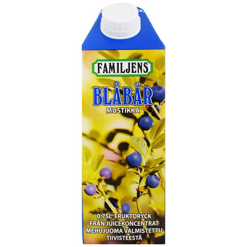 Hedelmäjuoma Mustikka 750 ml - 17% alennus