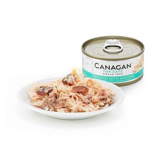 Canagan Cat Kyckling Med Sardiner