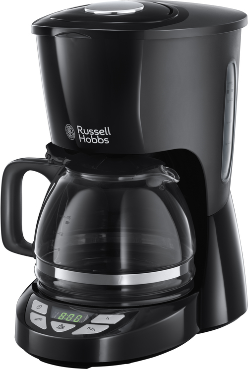 Russell Hobbs Textures Plus Bl Ack Kaffebryggare - Svart