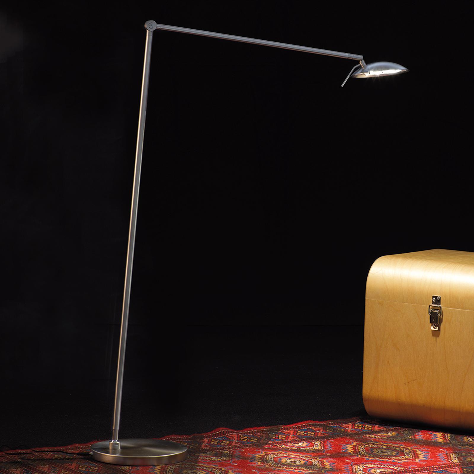 Säädettävä LED-lattiavalaisin Tija himmentimellä