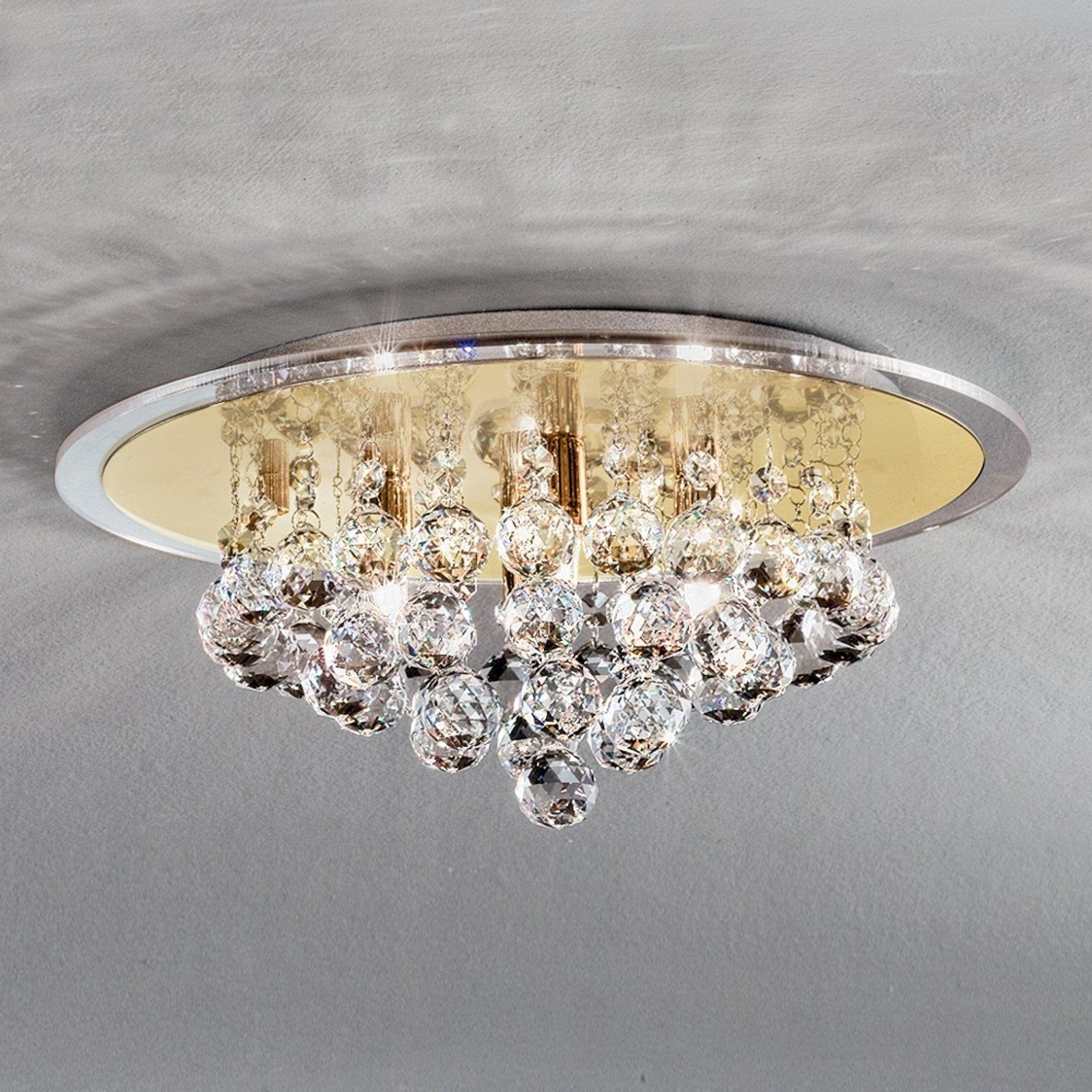 Uttrykksfull TUILA krystall taklampe 38 cm