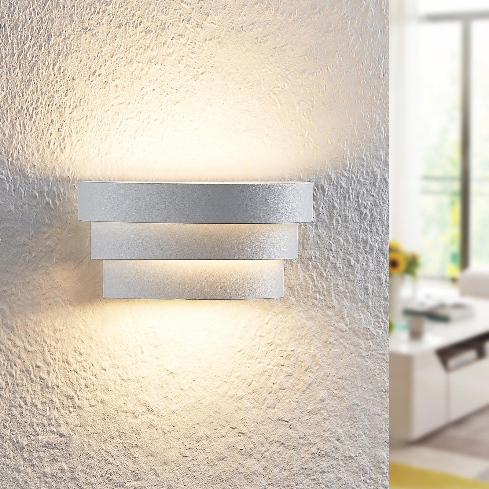 Arcchio Harun -LED-seinävalaisin valkoinen 18 cm