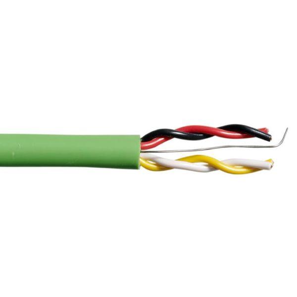 Schneider Electric 495913000 BUS-kabel 4 ledere, 0,502 mm² lederområder 100 m