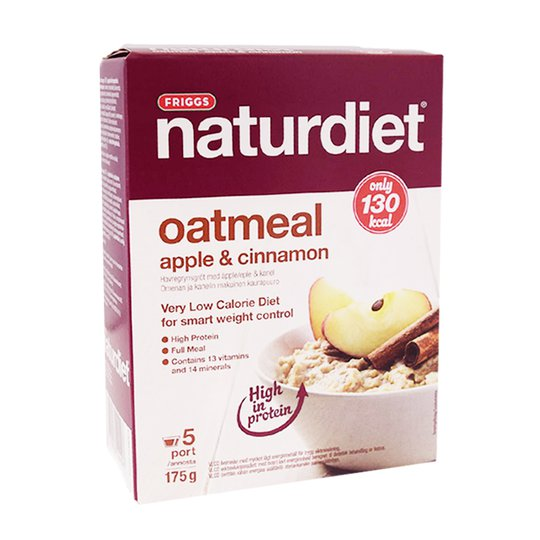 Naturdiet Gröt Äpple & Kanel - 72% rabatt