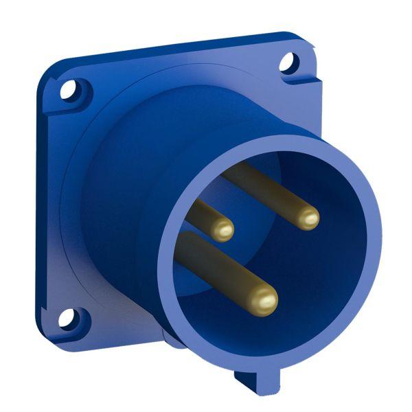 ABB 2CMA102351R1000 Paneelin sisääntulo pikaliitettävä, tärinänkestävä Suora, 3-nastainen, 32 A
