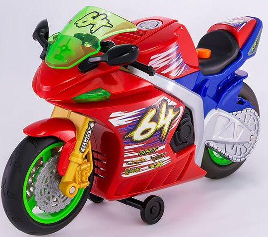 Nikko Motorcykel Wheelie Bikes