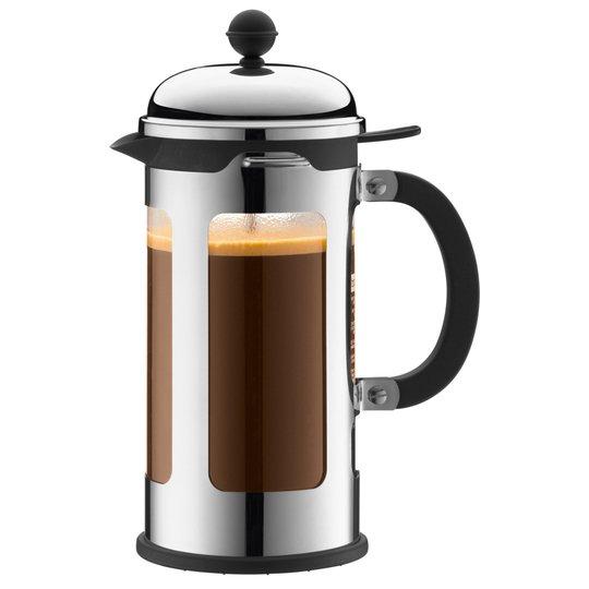 Bodum Chambord Krom kaffepress 8 Koppar 1,0 l