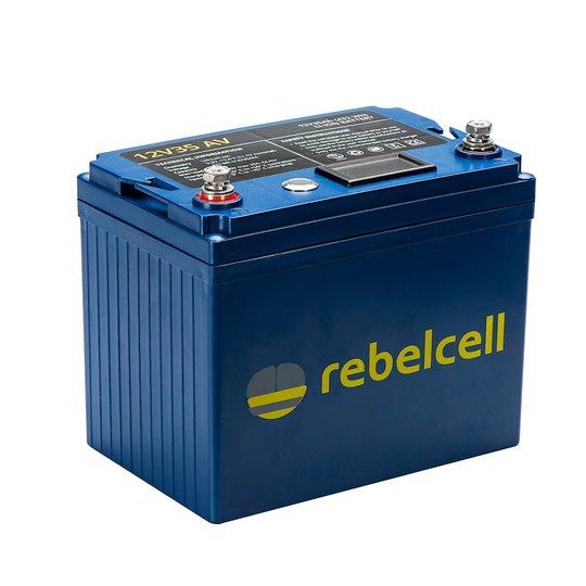 Rebelcell 12V 35 Ah litiumbatteri