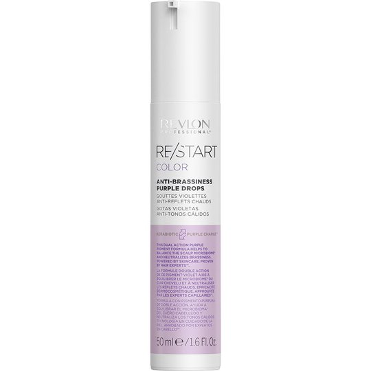 Restart Color Anti-Brasiness Purple Drops, 50 ml Revlon Professional Muotoilutuotteet