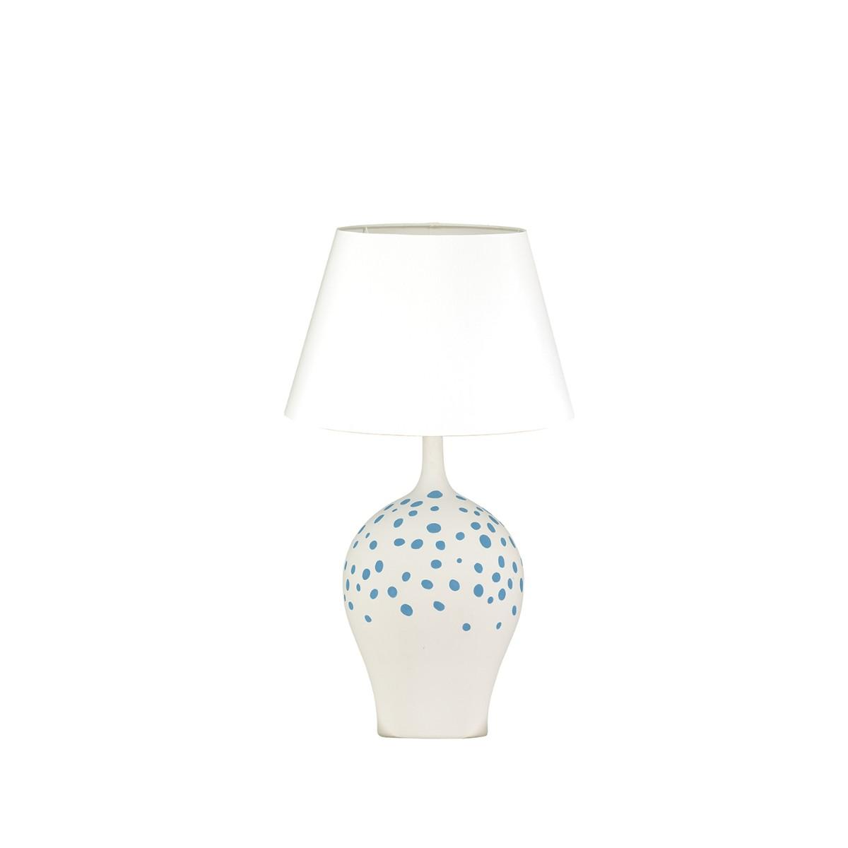William Yeoward | Angelica Table Lamp | Peacock