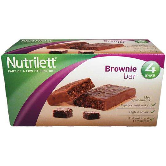 Nutrilett Brownie bars 4-pack - 41% rabatt