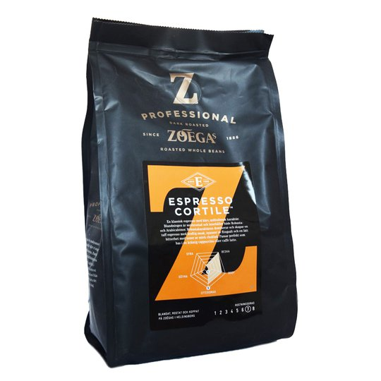 "Kaffebönor ""Espresso Cortile"" - 58% rabatt"