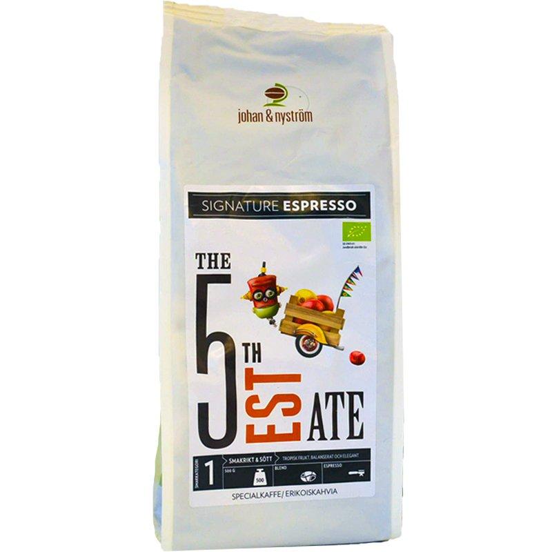 """Kaffebönor """"The 5th Estate"""" - 63% rabatt"""