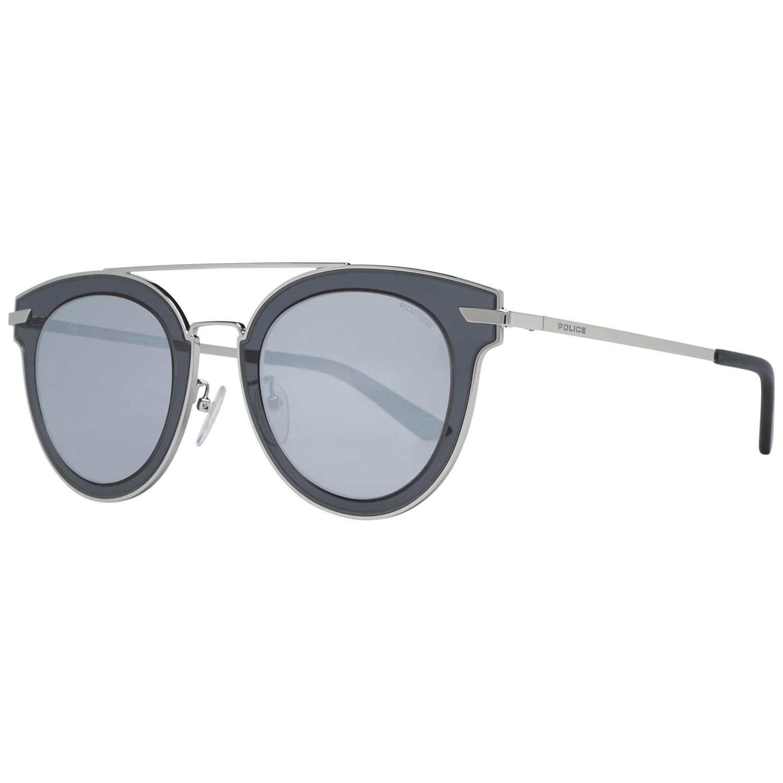 Police Men's Sunglasses Silver SPL543G50579K