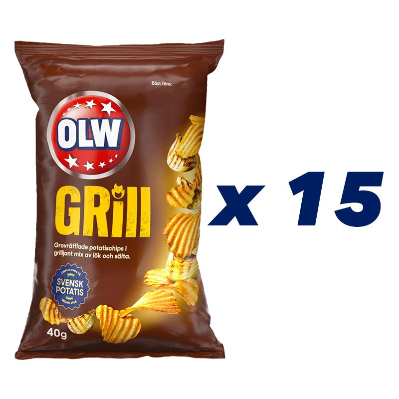Chips Grill 15-pack - 72% rabatt
