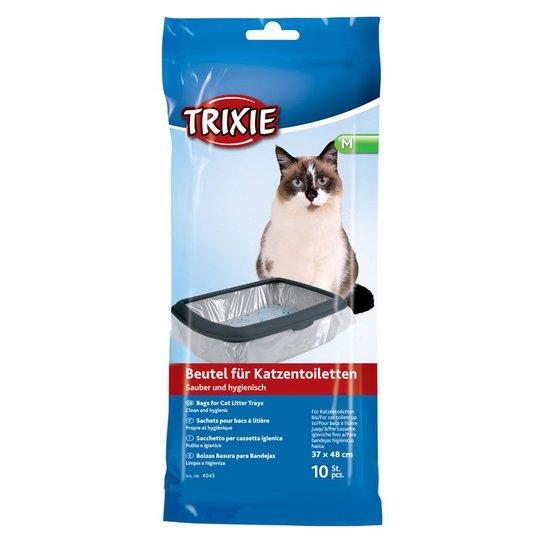 Trixie Kattlådspåsar 10-pack (M)