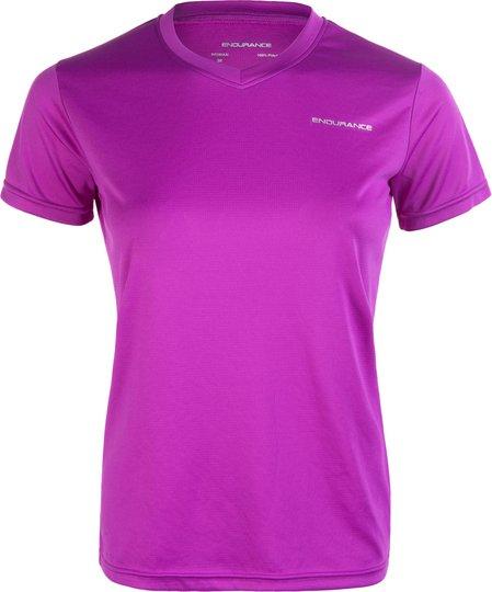 Endurance Vista T-shirt, Purple Flower 10