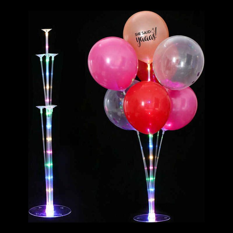 Ballongställ med LED