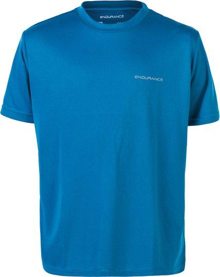 Endurance Vernon T-shirt, Mykonos Blue 8