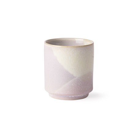 Gallery Ceramics Kaffekopp Lilac/Yellow