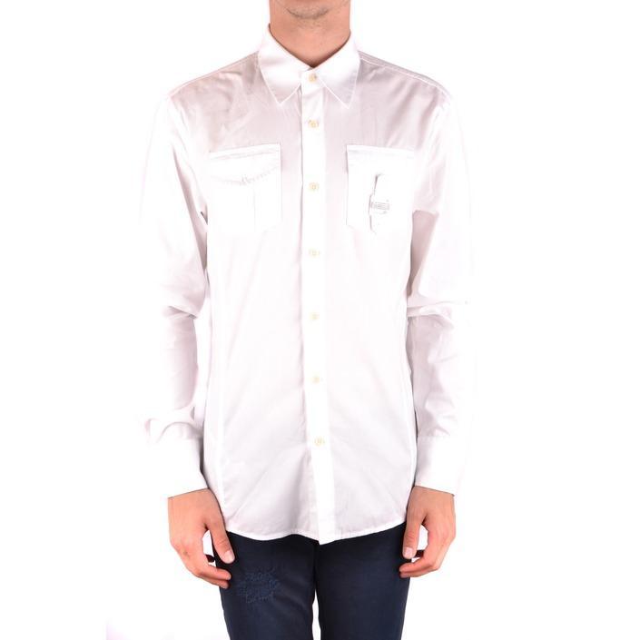 Bikkembergs Men's Shirt White 186888 - white S
