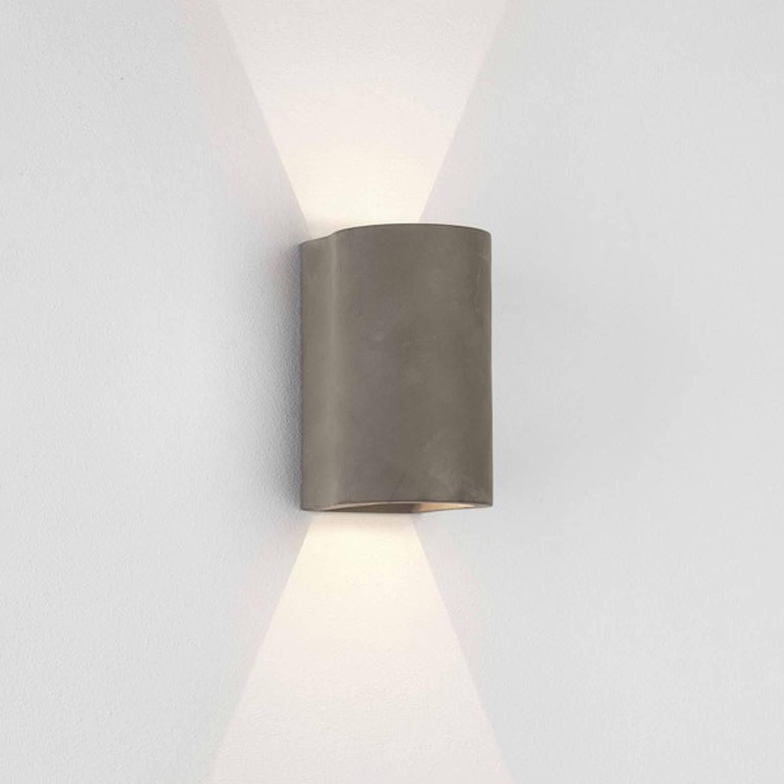 Astro Dunbar utendørs LED-vegglampe, 2 lyskilder