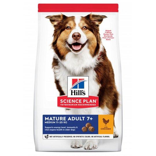 Hill's Science Plan Dog Mature Adult 7+ Medium Chicken (18 kg)