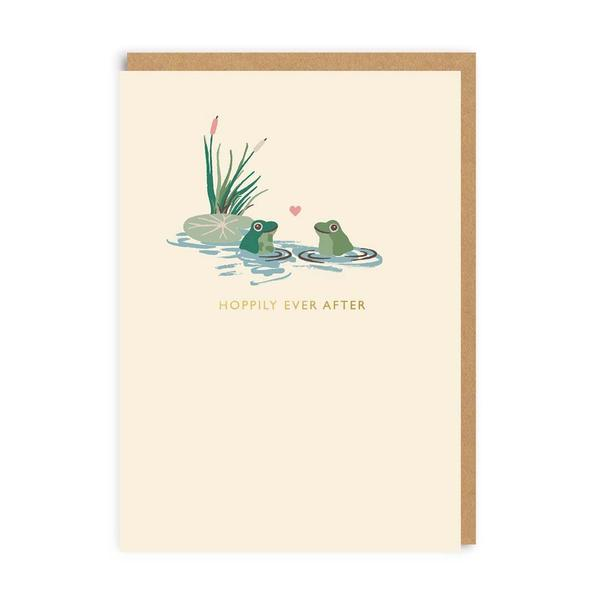 Hoppily Ever After Greeting Card