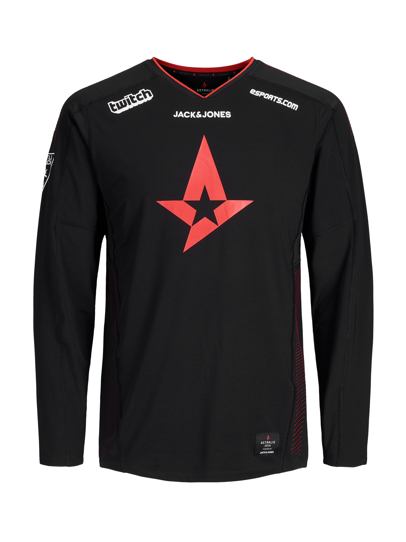 Astralis Merc Official T-Shirt LS 2019 - XXXL