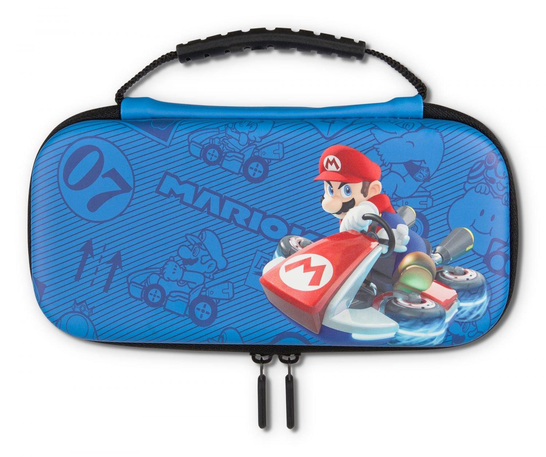 PowerA Switch Lite Protection Case Kit - Blue Mario Kart