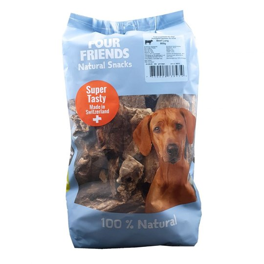 FourFriends Dog Natural Snack Beef Lung (800 g)