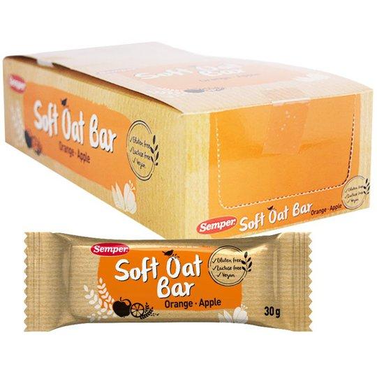 "Hel Låda Oat Bars ""Orange & Apple"" 18 x 30g - 54% rabatt"