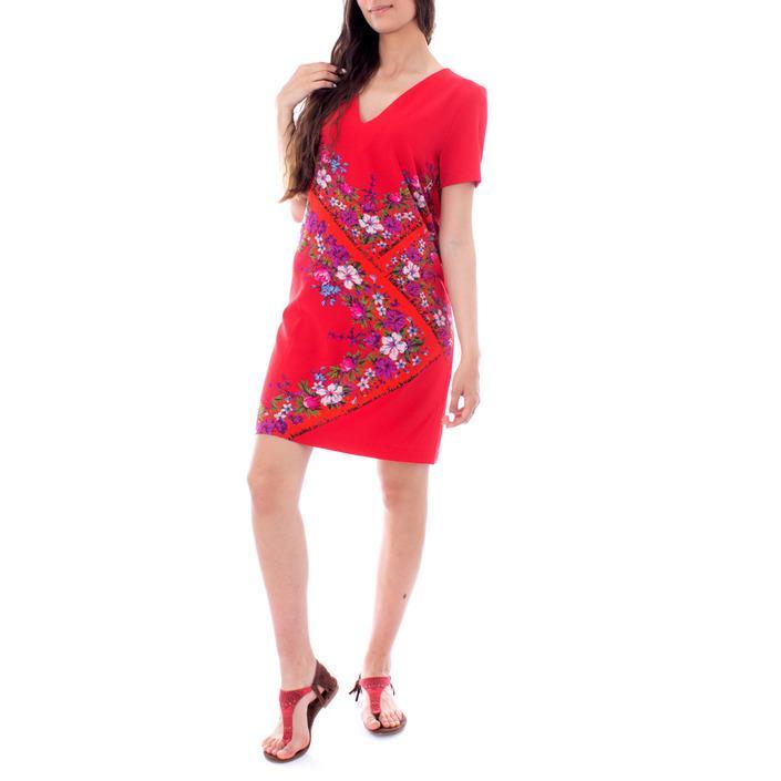 Desigual Women's Dress Red 167236 - red 38
