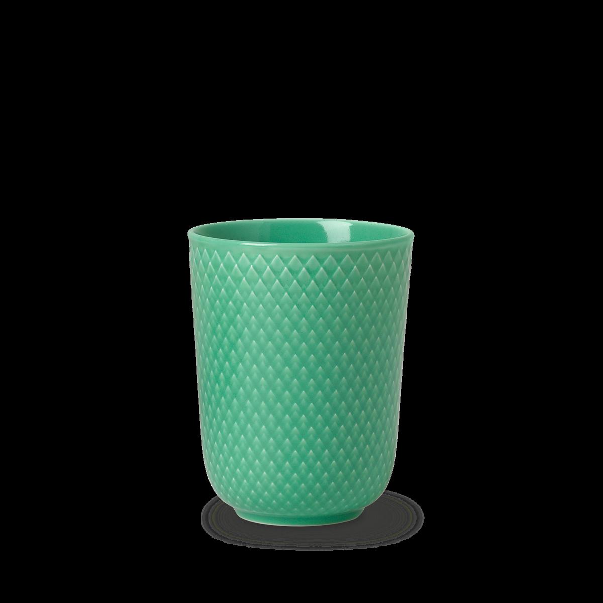 Lyngby Porcelæn - Rhombe Mug 33 cl - Green (201964)