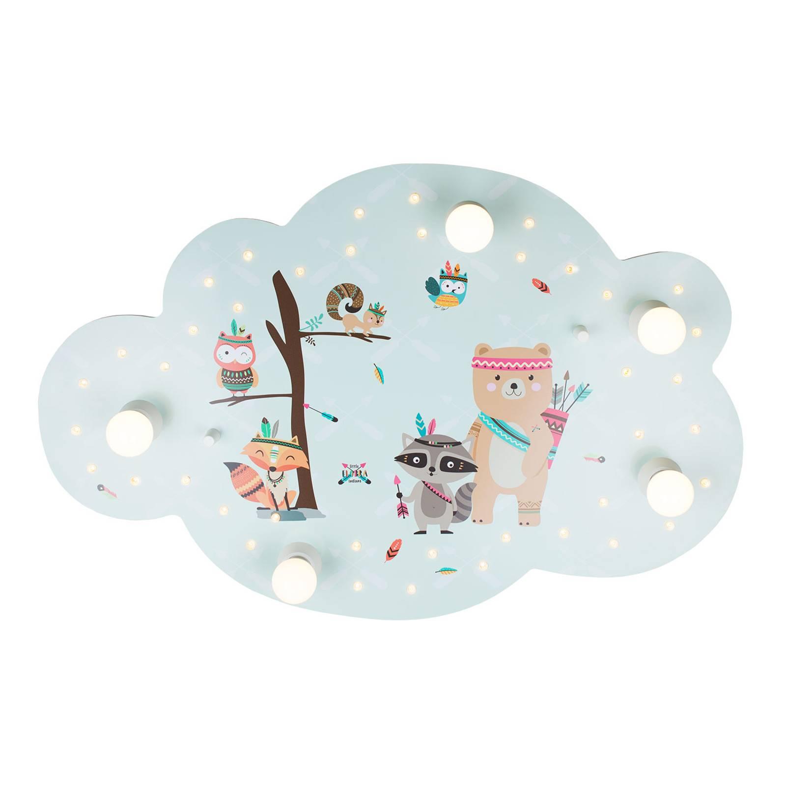 Little Indians -kattovalaisin, pilvi, minttu