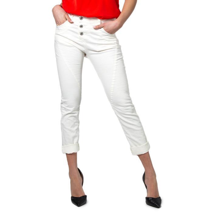 Please Women's Jeans White 173973 - white XXS