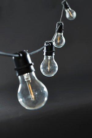 Function Lysline Svart 10 LED