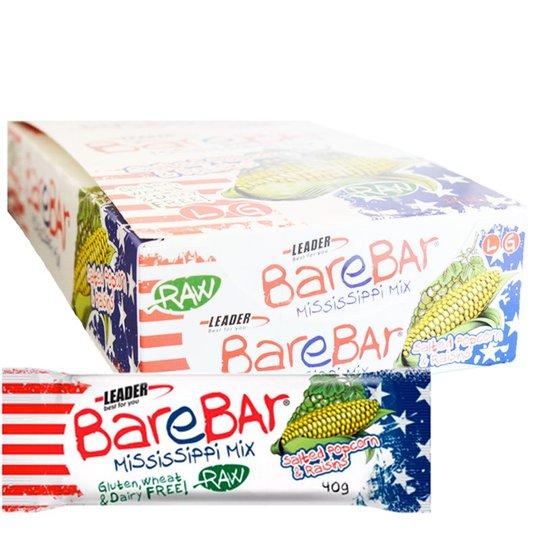 "Hel Låda Snack Bar ""Raisin & Popcorn"" 24 x 40g - 86% rabatt"
