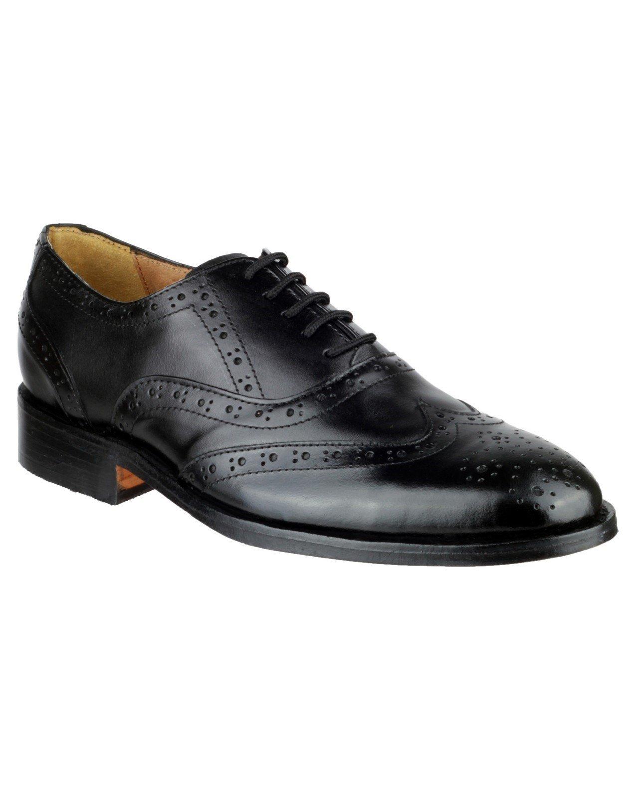 Amblers Women's Ben Leather Soled Oxford Black 10875 - Black 6
