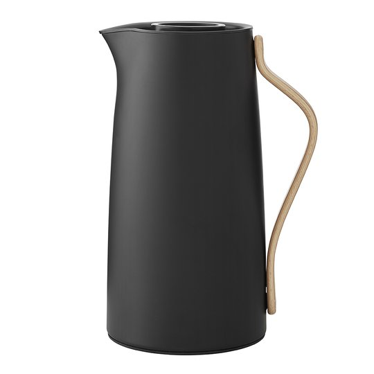 Stelton - Danish Modern Emma Termoskanna Kaffe 1,2 L Svart matt