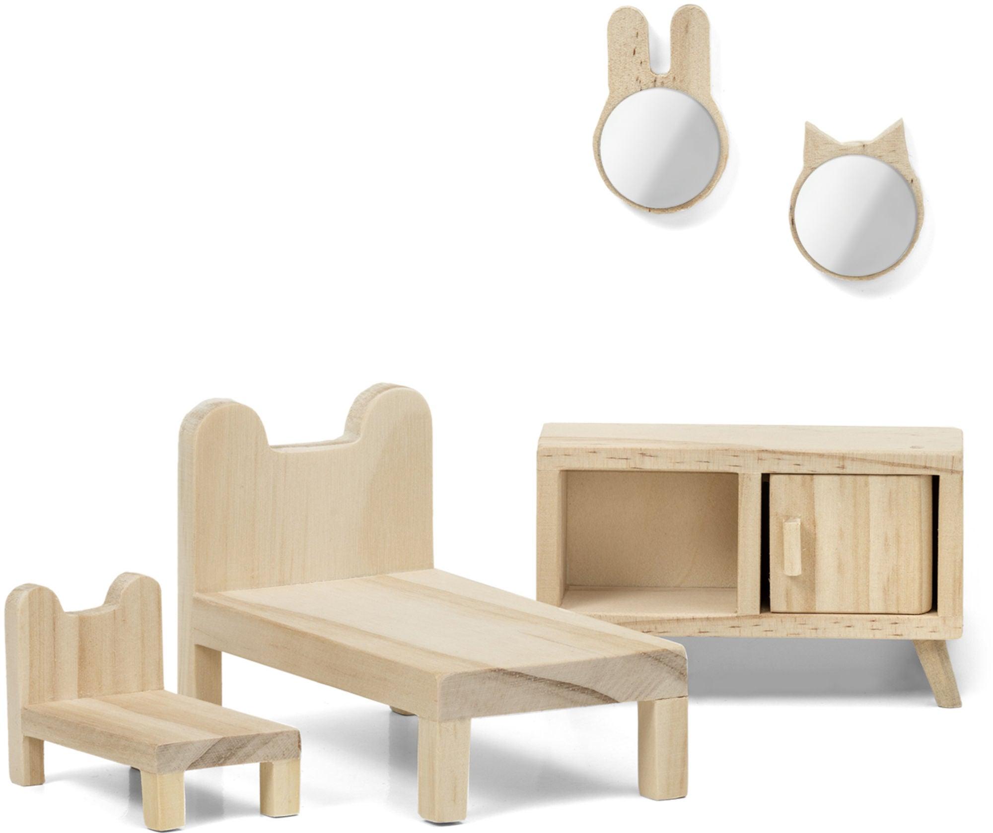 Lundby Nukkekodin Kalusteet Makuuhuonesetti DIY