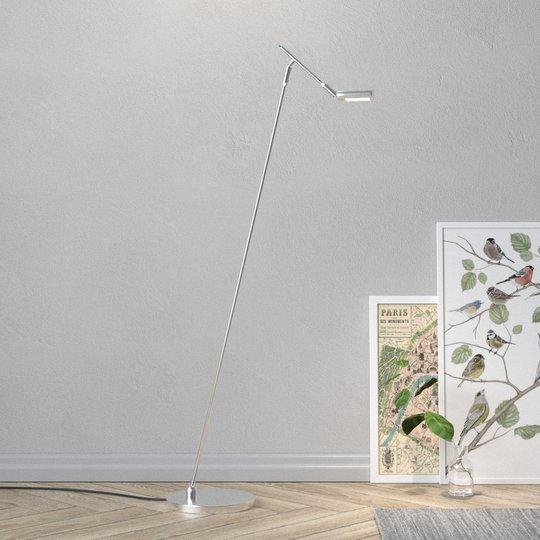 LED-lattiavalaisin Seno, matta nikkeli