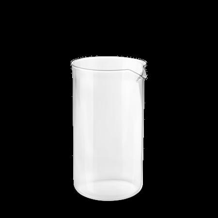 Kaffe stempel glass 1,0 l klart