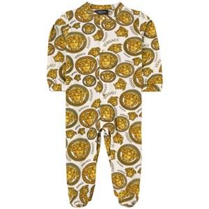 Versace Medusa Sparkdräkt Guld 6-9 mån