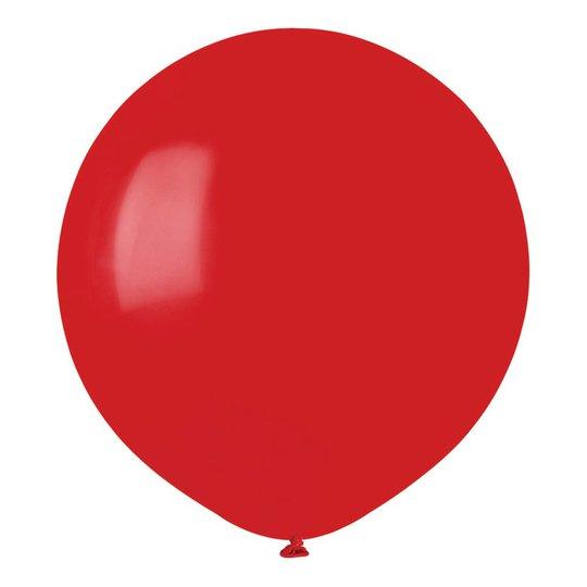 Ballonger Röda Runda Stora - 10-pack