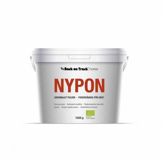 Back on Track Ekologiskt Nyponpulver Grovmalet (1,5 kg)