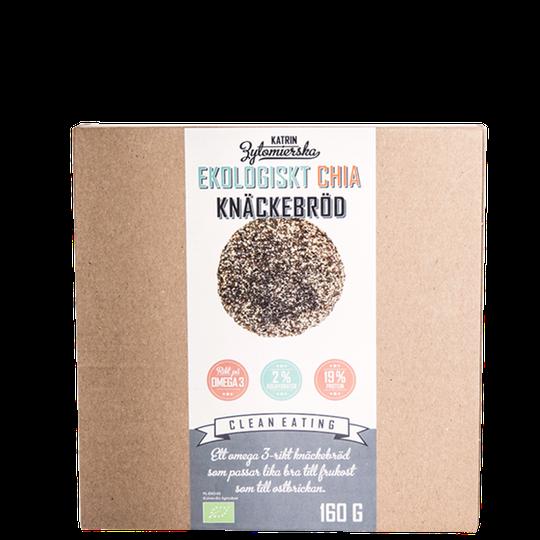 Ekologiskt Chia Knäckebröd, 160 g