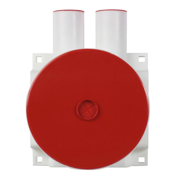 Elko 5228 Kytkentärasia valkoinen, 45 mm 2 putkiliitäntää