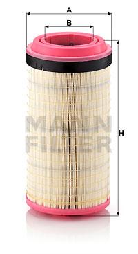 Ilmansuodatin MANN-FILTER C 21 600