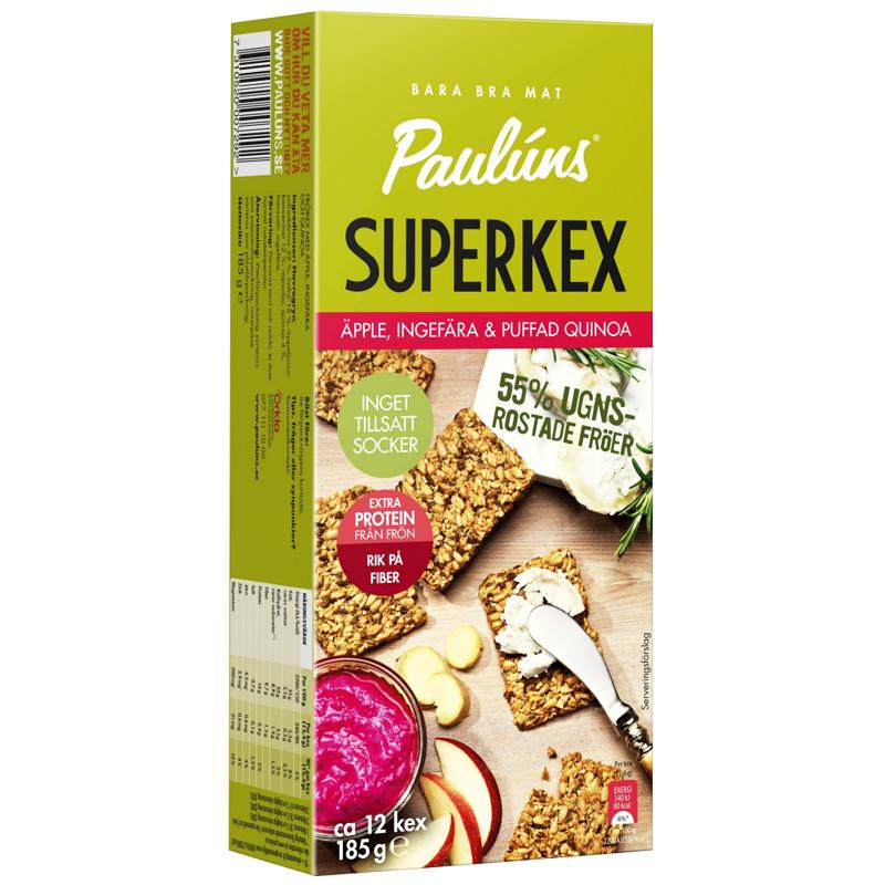 Kex Äpple, Ingefära & Quinoa - 33% rabatt
